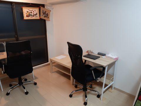 大阪市内のCROSLANの事務所